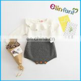 Elinfant Organic Cotton Baby Rompers Wholesale Baby Clothes