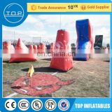 Brand new archery tag bunker inflatable paintball field China supplier