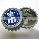 Magnetic bottle opener fridge magnet