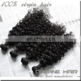 Top grade 100% natural 100% exotic raw unprocesse brazilian remy hair