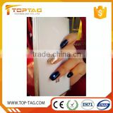Led light nfc nail art sticker / NFC rfid finger nail tag