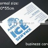 Machine printing custom branded name visiting card ,paper cut decoration greeting card wholesale                                                                                                         Supplier's Choice