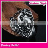 Designer top sell steel casting animal ring