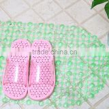 PVC Household Bathroom Anti-skid massage slippers plastic commodity
