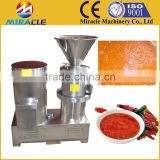 Durable and competitive price peanut seeds colloid mill for making fresh peanut butter for peanut processing industry