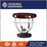 Popular modern wood customized living room furniture sofa side table designs                                                                                                         Supplier's Choice