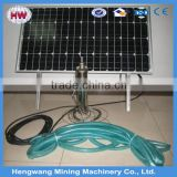 3 inch deep well submersible solar water pump, farm irrigation solar pump machine, borehole pumping machine