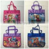 TF-Y01160621001 Frozen Spiderman Frozen Fever School Book Bag Girls Kids Book Satchel School Bag