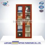 Steel cupboard / glass door chemical storage cabinet / cheap storage cabinet