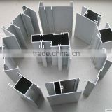 6063T5 high strength large aluminium extrusion for glass facade cortina
