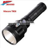 newest flashlight Nitecore TM36 LUMINUS SBT-70 LED 1800 lumens/led rechargeable flashlight/long beam torch