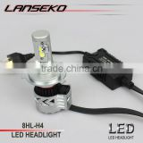 All in one H4 led motorcycle headlight 40W 6000Lm led car light