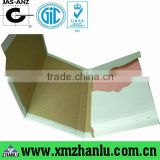 White corrugate box mailer B flute 3 layer corrugated paper board