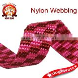 1.5cm beads pattern Jacquard stitching color,eco-friendly nylon webbing