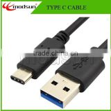2015 New design Data & Charging USB Type C Cable,USB 3.0 3.1 Type c Data Cable for Mobile Phone/Pad/laptop