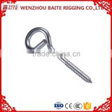 Galvanized High Quality Custom Long eye Swing Screw Hook Made In China Professional Manufacturer 10.6*110mm