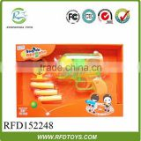 Wholesale kids ping pong gun,toys ping pong ball gun for promotional,gun with soft bullet