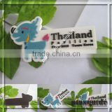 Best Sales Factory Safety Customer Logo Cute Deer 3D Soft PVC Thailand Souvenir Rubber Fridge Magnet For Exhibition Gifts