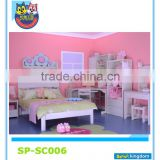 Kids Beds Single Bed Frame Children Furniture Bedroom Sets white color,hot sales