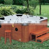 Outdoor bathtub outdoor massage spa promotion wooden freestanding bathtubs 2013 super luxury design G680