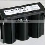 6v2.5ah Spiral Battery 6v 2.5ah battery rechargeable battery heated