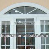 PVC Window Grill Design For Sliding Window And Glass Reception Window