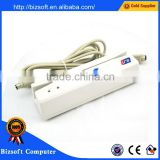 Bizsoft YLE-402M serial minitype gold magnetic card reader accords with ANSI/ISO technology standard
