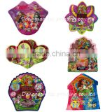 custom design special shape plastic toy bag for candy and sugar