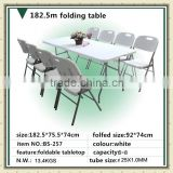 Mordern Outdoor Plastic Folding Table Dining Camping Table                                                                         Quality Choice