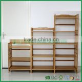Health and beauty products three bamboo racks kitchen shelf kitchen shelf microwave oven rack shelf widens