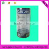 candy plastic tube containers, plastic cigar tube, flexible plastic tube