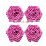satin ribbon roses flower for wedding decoration                                                                         Quality Choice