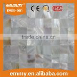 Hot sale and high quality China fresh water mosaic natural white mother of pearl mosaics