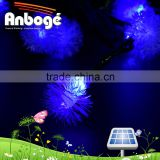 Solar Powered String Lights Warm White Chuzzle Ball 80 Led For Outdoor Patio Garden blue
