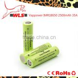 3.7v AA 2500mah Nickel Metal Hydride rechargeable battery