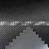 1680D Black elastic yarn PVC Coated Oxford Fabric