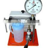 PJ-60 injector tester /nozzle tester check the sealing function of the needle valve of injecter.