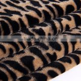 Polyester soft velvet spandex stretch print fabric velvet crush spandex fabric spandex velour home textile fabric