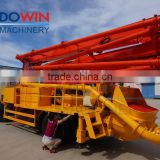 37M Boom Used Schwing Concrete Pump Truck, MITSUBISHI Chassis