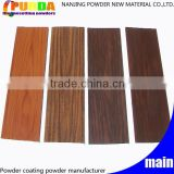 Wood Grain Polyester Powder Coating Powder