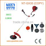 Best Quality 4 Stroke GX35 Brush Cutter / Grass Trimmer with 140F Engine 35cc copy HONDA power