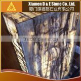 White Onyx With Brown Veins Marble Onyx