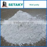 white cement based-wall putty powder-for concrete use