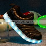China Wally Gadgets 10 years factory made 2016 high quality unisex led kids shoes/Light up baby shoes / Led casual shoes !