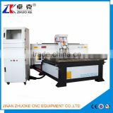 China 3D Woodworking CNC Router Machine ZKM-1325 With Cast Iron Gantry 1300*2500MM Of PCI NcStudio Control System