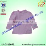 hot sale 100%cotton plain kids tshirt, top quality children t-shirt factory