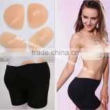 Free shipping 650g four pieces sexy Silicone butt push up hip pads enhancing pads with waistline slimming Hip panties for women