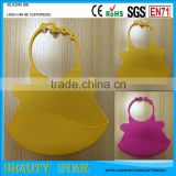 Customized silicone bib,Good quality baby silicone bib for promotional gifts
