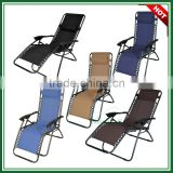 Wholesale Steel Tube Garden Fuiniture Cheap Leisure Chair Folding Recliner Zero Gravity Office Chairs