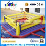 2016 Online Hot Sale Commercial Grade Sporting Field Inflatable Bouncy Boxing Ring Games For Adult